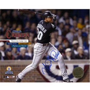 Miguel Cabrera Autographed Florida Marlins (NLCS Game 7 HR) 8x10 Photo