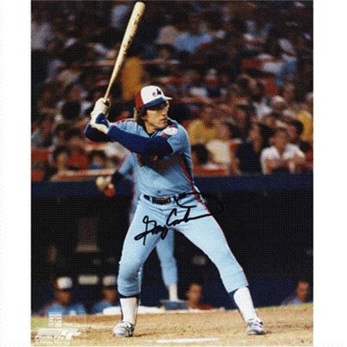 Gary Carter Autographed Montreal Expos 8x10 Photo