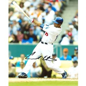 Andre Ethier Autographed Los Angeles Dodgers 8x10 Photo