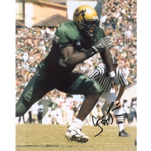 George Selvie Autographed South Florida USF Bulls 8x10 Photo