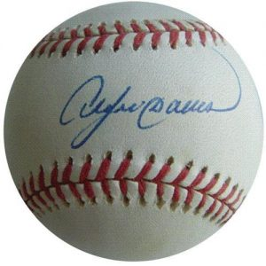 Andre Dawson Autographed MLB Baseball