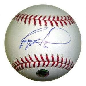 Ryan Howard Autographed MLB Baseball - Howard Holo