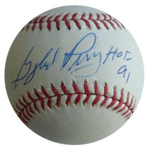 """Gaylord Perry Autographed MLB Baseball w/ """"HOF 91"""""""