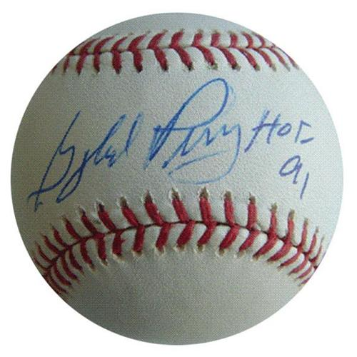 "Gaylord Perry Autographed MLB Baseball w/ ""HOF 91"""