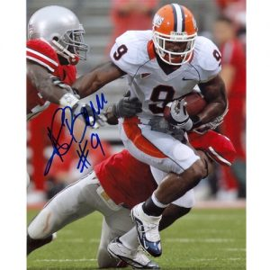 Arrelious Benn Autographed Illinois Illini 8x10 Photo