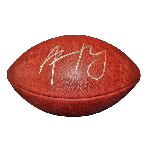 683ace519a7 Aaron Rodgers Autographed NFL Game Football