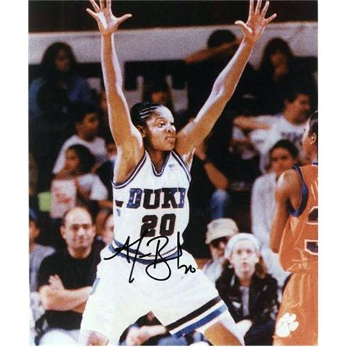Alana Beard Autographed Duke Blue Devils 8x10 Photo