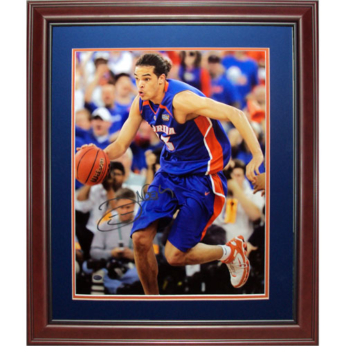Joakim Noah Autographed Florida Gators (06 Final Four) Deluxe Framed 16x20 Photo