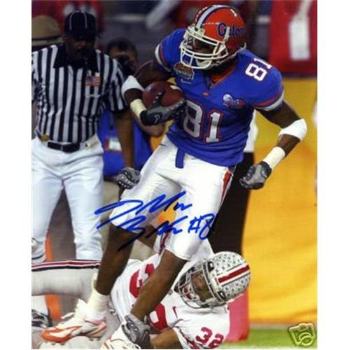 Dallas Baker Autographed Florida Gators (BCS Game) 8x10 Photo
