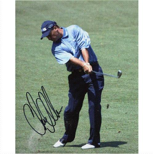 Chris DiMarco Autographed (Chipping) 8x10 Photo