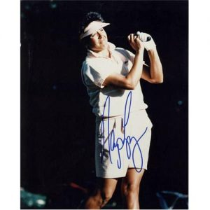 Nancy Lopez Autographed 8x10 Photo