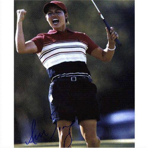 Aree Song Autographed (Celebrating) 8x10 Photo