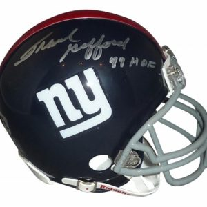 Frank Gifford Autographed New York Giants (Throwback) Mini Helmet