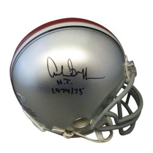 """Archie Griffin Autographed Ohio State Buckeyes Mini Helmet w/ """"H.T. 1974/75"""""""