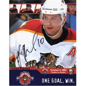 Pavel Bure Autographed Florida Panthers (2001 Opening Night) Program