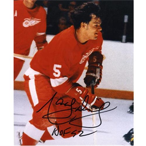 Marcel Dionne Autographed Detroit Red Wings 8x10 Photo