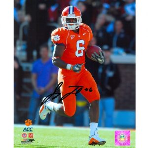 Jacoby Ford Autographed Clemson Tigers 8x10 Photo