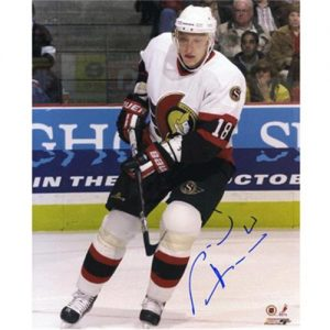Marian Hossa Autographed Ottawa Senators 8x10 Photo