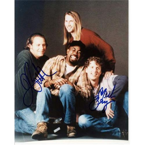 Hootie and the Blowfish Autographed 8x10 Photo - 2 Signatures