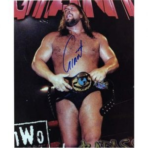 Giant (Paul Wight) Autographed Wrestling 8x10 Photo