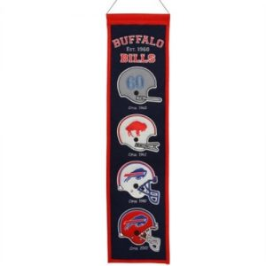 Buffalo Bills Logo Evolution Heritage Banner