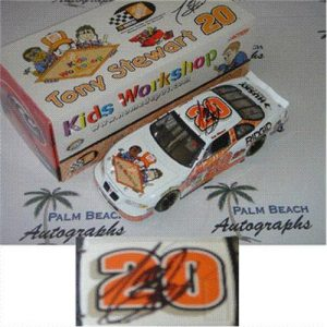 Tony Stewart Autographed Kids Workshop #20 (Action) 1/24 Diecast Car