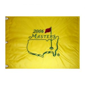 2006 Masters Embroidered Golf Pin Flag - Phil Mickelson Champion