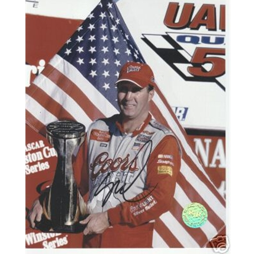 Sterling Marlin Autographed Coors Light 8x10 Photo