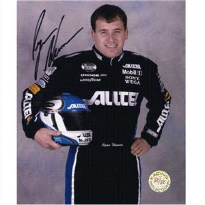 Ryan Newman Autographed Alltel 8x10 Photo