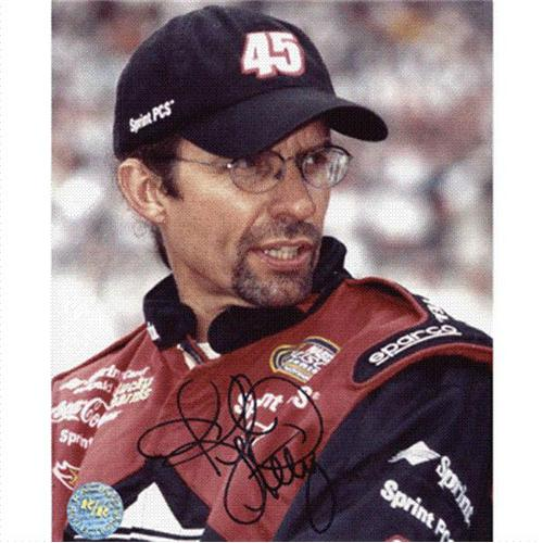 Kyle Petty Autographed Sprint PCS 8×10 Photo
