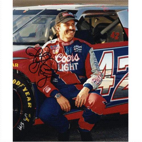 Kyle Petty Autographed Coors Light 8×10 Photo