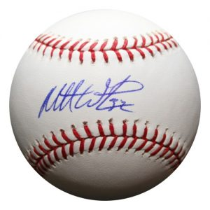 Matt Wieters Autographed MLB Baseball