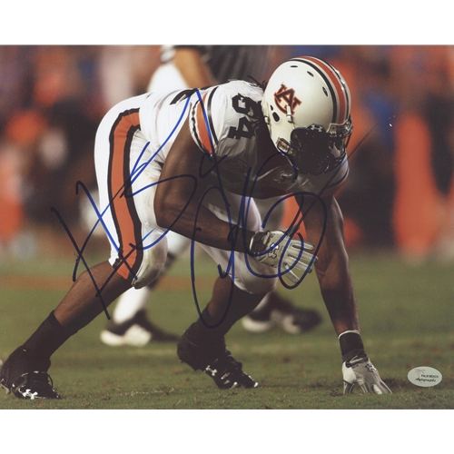 Quentin Groves Autographed Auburn Tigers 8x10 Photo