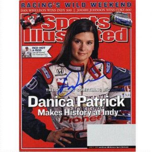 Danica Patrick Autographed (Makes History At Indy) Sports Illustrated - 6/6/05