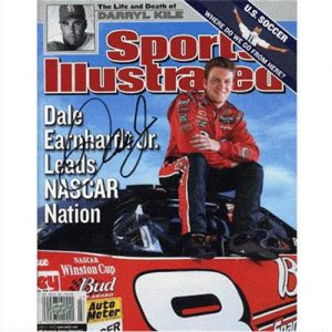 Dale Earnhardt Jr. Autographed (Leads Nascar Nation) Sports Illustrated - 7/1/02