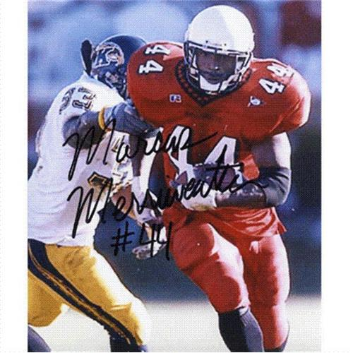 Marcus Merriweather Autographed Ball State Cardinals 8x10 Photo