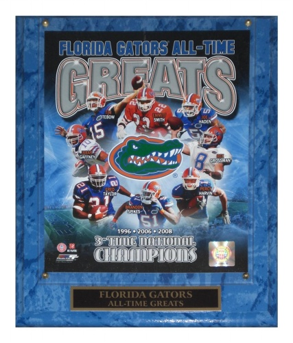 Florida Gators (All-Time Greats) Licensed 8x10 Photo Plaque