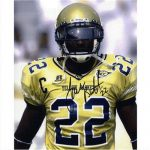 James Butler Autographed Georgia Tech Yellow Jackets 8×10 Photo