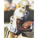 Dez White Autographed Georgia Tech Yellow Jackets 8×10 Photo
