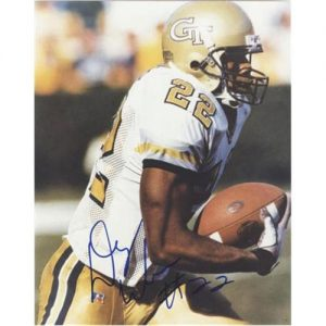 Dez White Autographed Georgia Tech Yellow Jackets 8x10 Photo