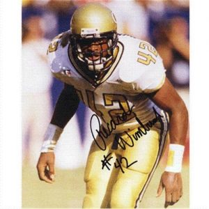 Recardo Wimbush Autographed Georgia Tech Yellow Jackets 8x10 Photo