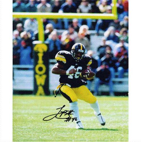 Ladell Betts Autographed Iowa Hawkeyes 8x10 Photo
