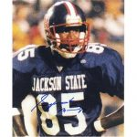 Sylvester Morris Autographed Jackson State Tigers 8×10 Photo