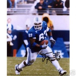 Dewayne Robertson Autographed Kentucky Wildcats 8x10 Photo
