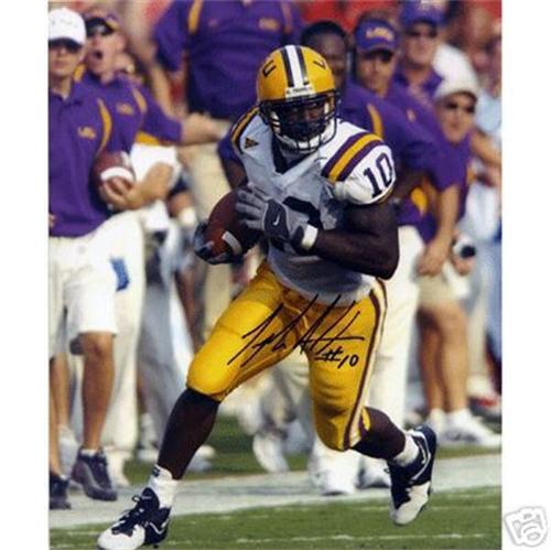 Joseph Addai Autographed Louisiana State LSU Tigers 8x10 Photo