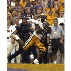 Skyler Green Autographed Louisiana State LSU Tigers (TD Catch) 8x10 Photo