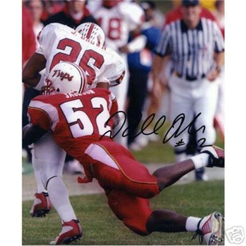 D'Qwell Jackson Autographed Maryland Terrapins 8x10 Photo