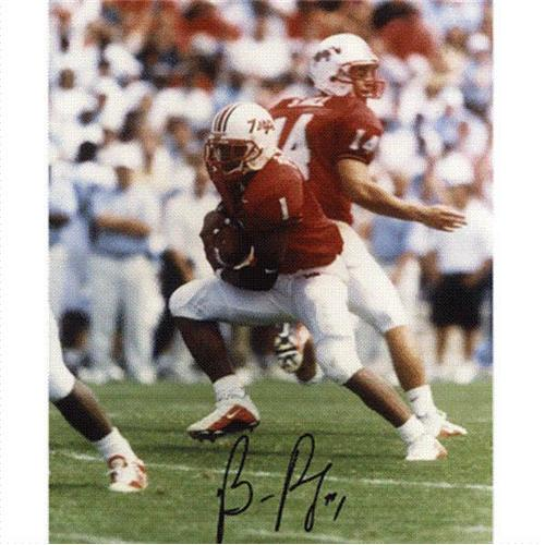 Bruce Perry Autographed Maryland Terrapins 8x10 Photo
