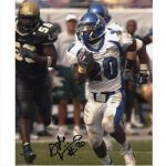 DeAngelo Williams Autographed Memphis Tigers (White Jersey) 8×10 Photo