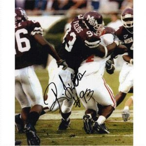 Ronald Fields Autographed Mississippi State Bulldogs 8x10 Photo
